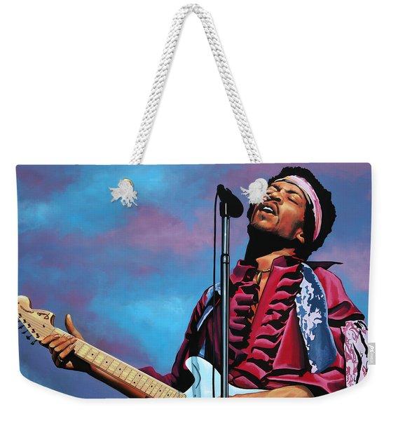 Jimi Hendrix 2 Weekender Tote Bag