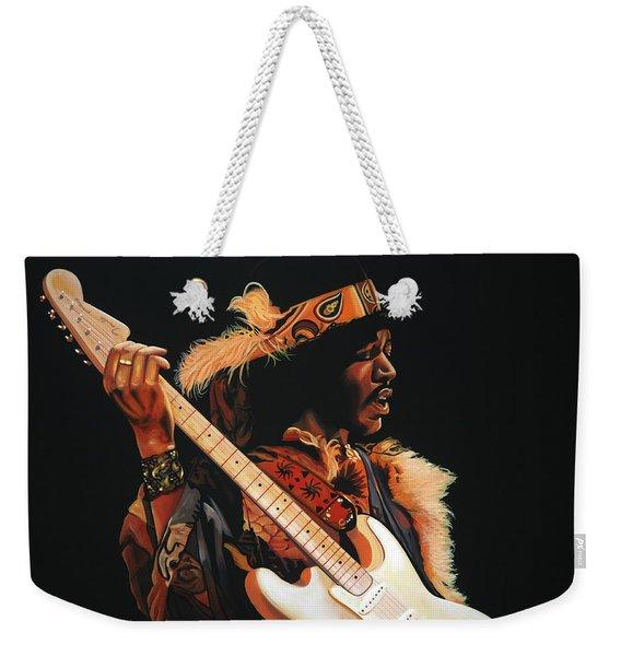 Jimi Hendrix 3 Weekender Tote Bag