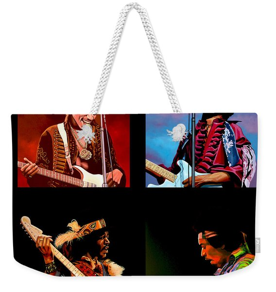 Jimi Hendrix Collection Weekender Tote Bag