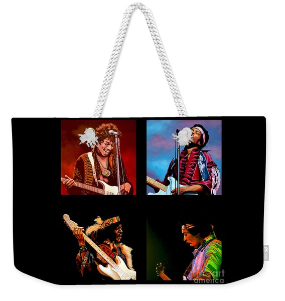 Jimi Hendrix Collection Weekender Tote Bag