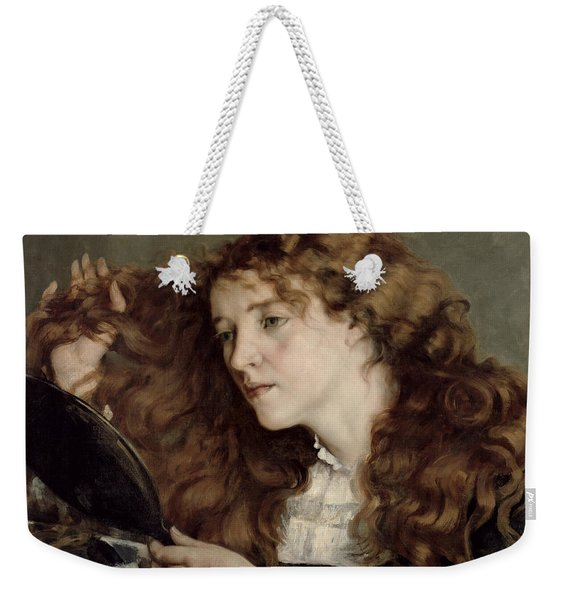 Jo The Beautiful Irish Girl Weekender Tote Bag