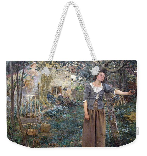 Joan Of Arc Weekender Tote Bag