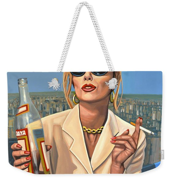 Joanna Lumley As Patsy Stone Weekender Tote Bag