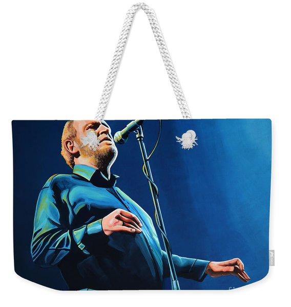 Joe Cocker Painting Weekender Tote Bag