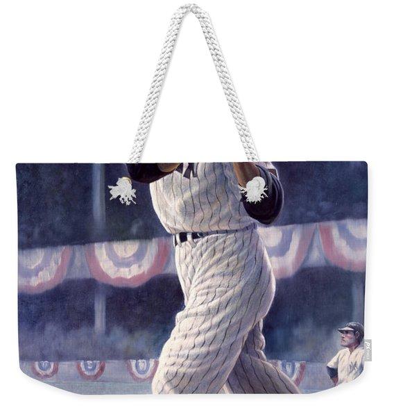Joe Dimaggio Weekender Tote Bag