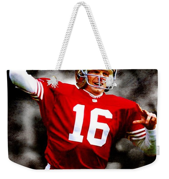 Joe Montana Weekender Tote Bag