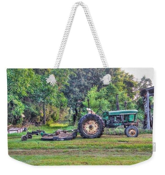 John Deere - Work Day Weekender Tote Bag
