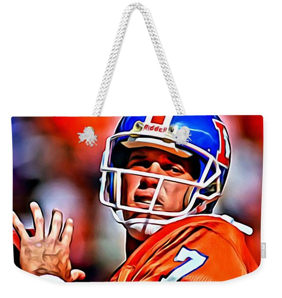 John Elway Weekender Tote Bag