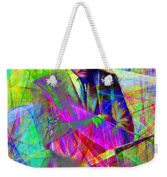 John Fitzgerald Kennedy Jfk In Abstract 20130610 Weekender Tote Bag