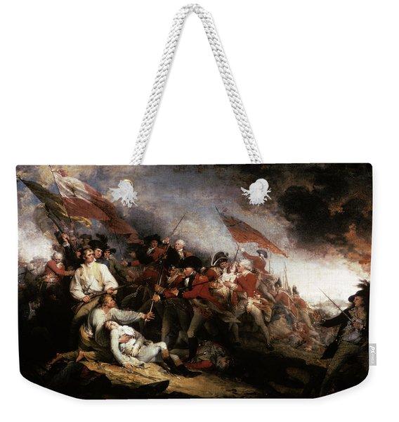 John Trumbull Oil Painting Of The Death Weekender Tote Bag