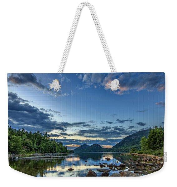 Jordan Pond Weekender Tote Bag