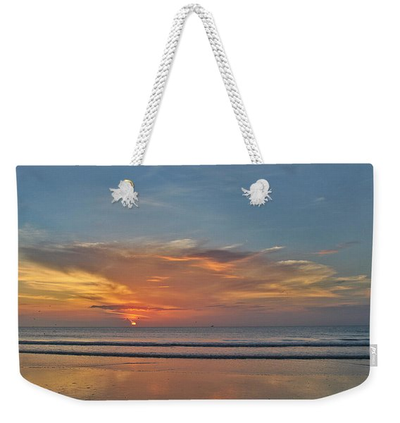 Jordan's First Sunrise Weekender Tote Bag