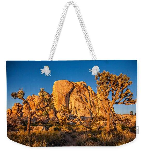Joshua Tree Sunset Glow Weekender Tote Bag