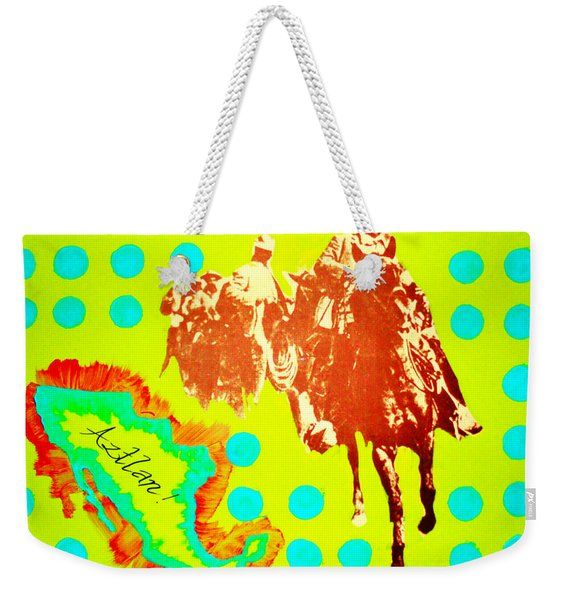 Journey To Aztlan Weekender Tote Bag