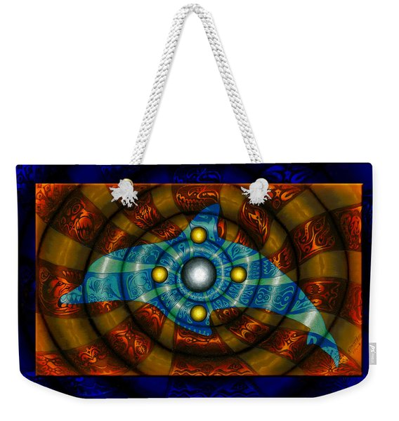 Journey To The Center II Weekender Tote Bag