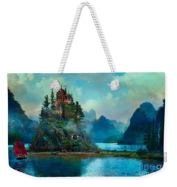 Journeys End Weekender Tote Bag