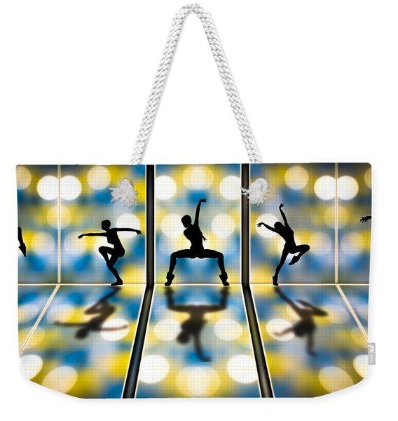 Joy Of Movement Weekender Tote Bag