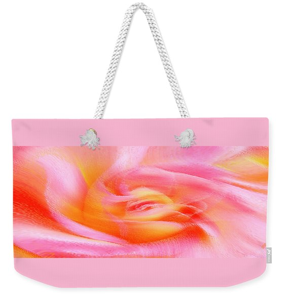 Joy - Rose Weekender Tote Bag
