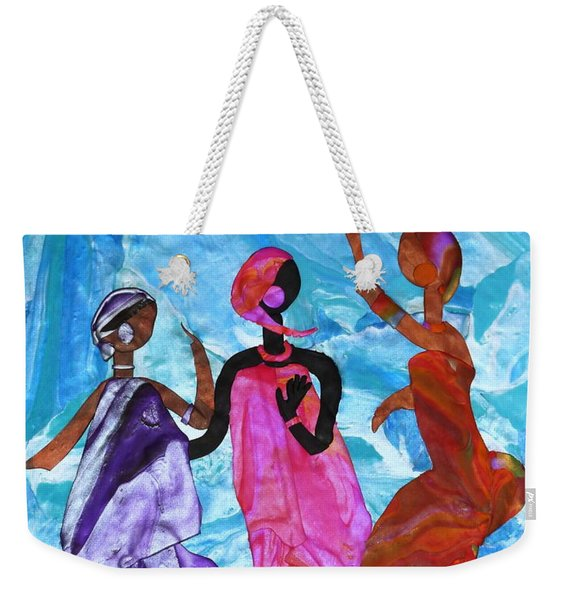 Joyful Celebration Weekender Tote Bag