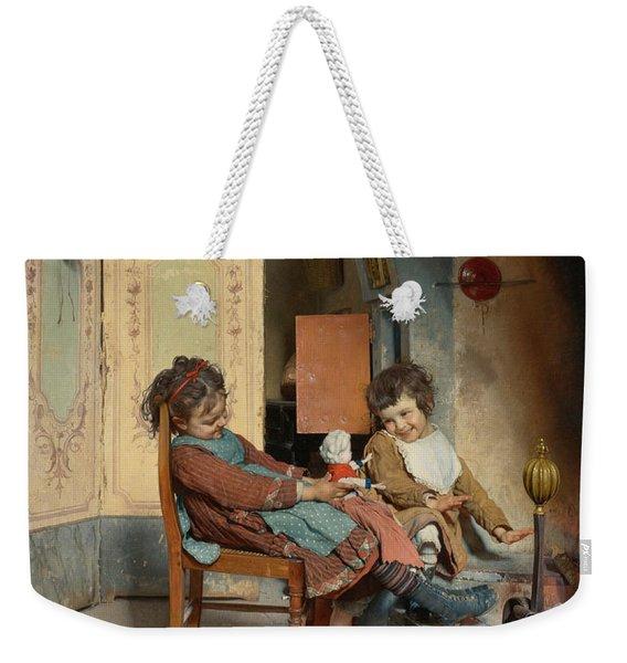 Joys Of Childhood Weekender Tote Bag