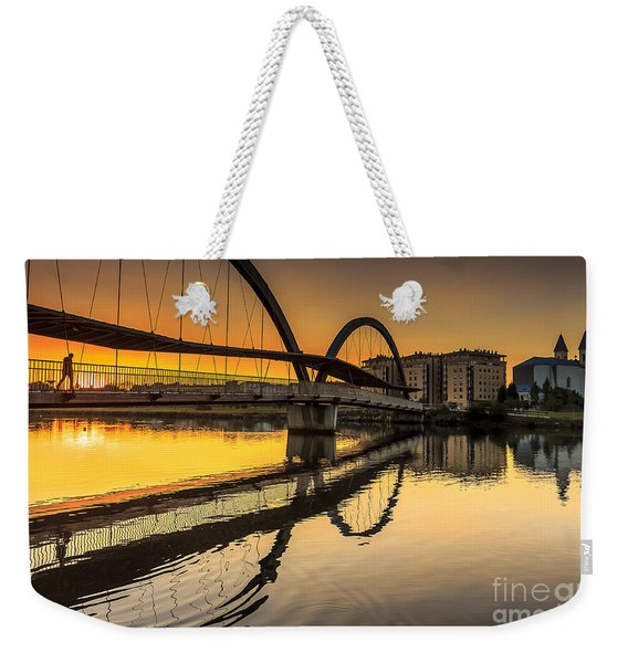 Jubia Bridge Naron Galicia Spain Weekender Tote Bag