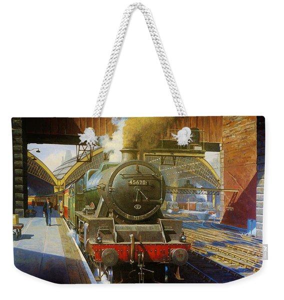 Jubilee 4.6.0 At Liverpool Lime Street. Weekender Tote Bag