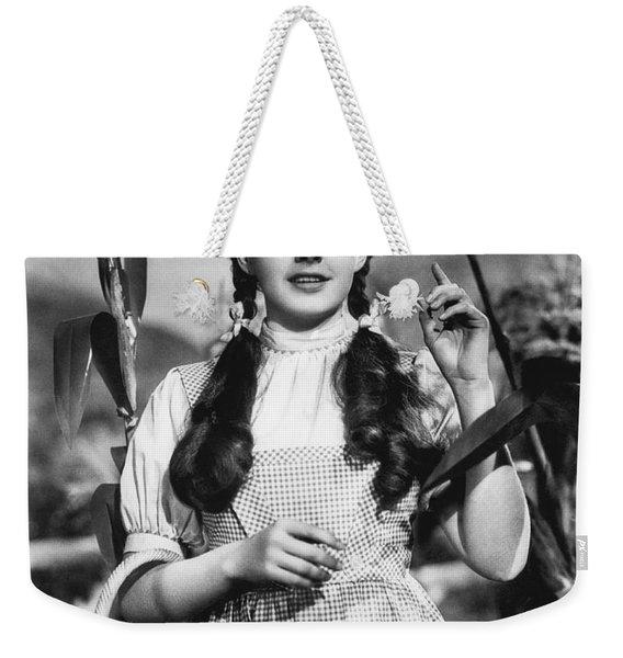Judy Garland As Dorothy Weekender Tote Bag
