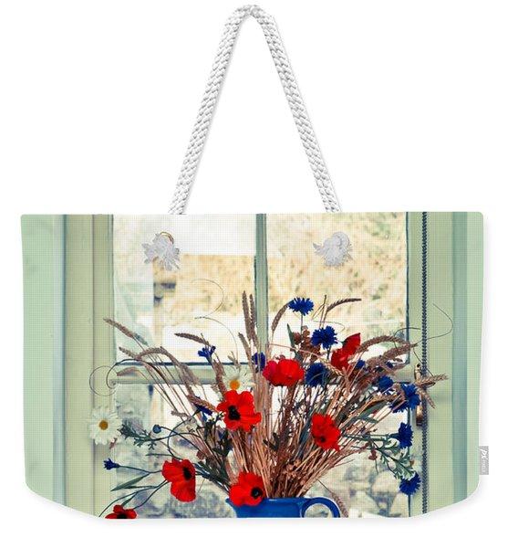 Jug Of Flowers Weekender Tote Bag