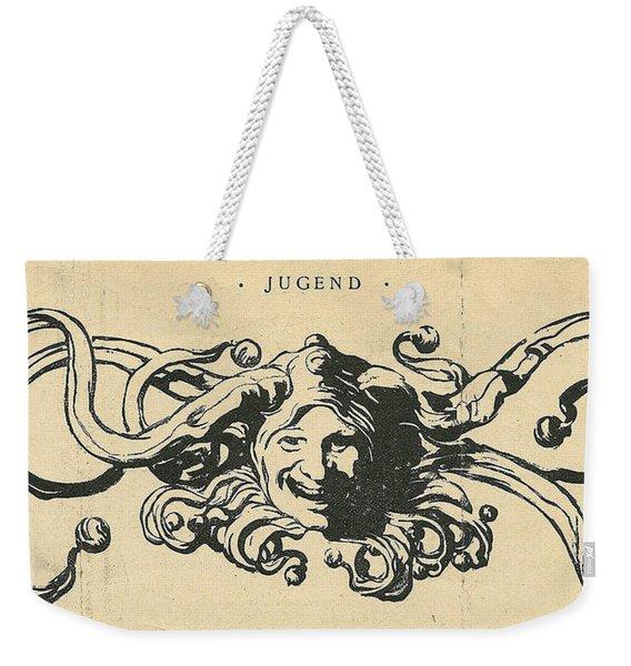 Jugend Jester Weekender Tote Bag