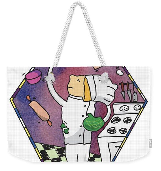 Juggling Chef Weekender Tote Bag