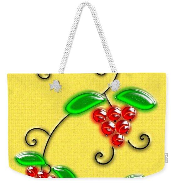 Juicy Berries Weekender Tote Bag
