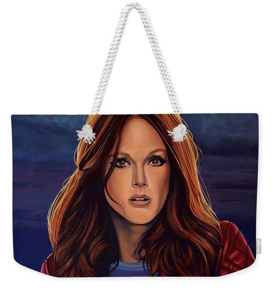Julianne Moore Weekender Tote Bag