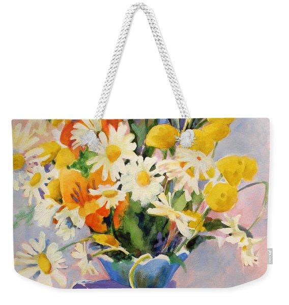 July Summer Arrangement  Weekender Tote Bag
