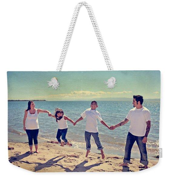 Jump For Joy Weekender Tote Bag