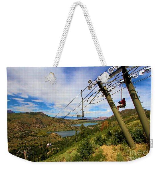 June Mountain J1 Weekender Tote Bag