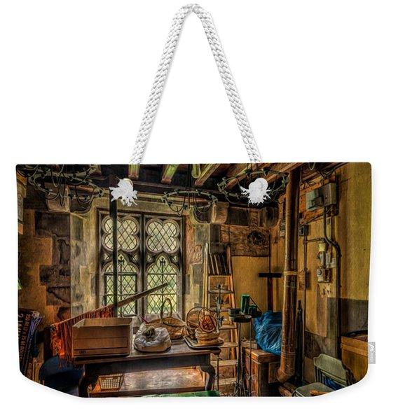 Junk Room Weekender Tote Bag