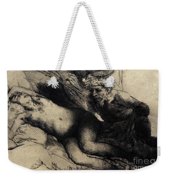 Jupiter And Antiope Weekender Tote Bag