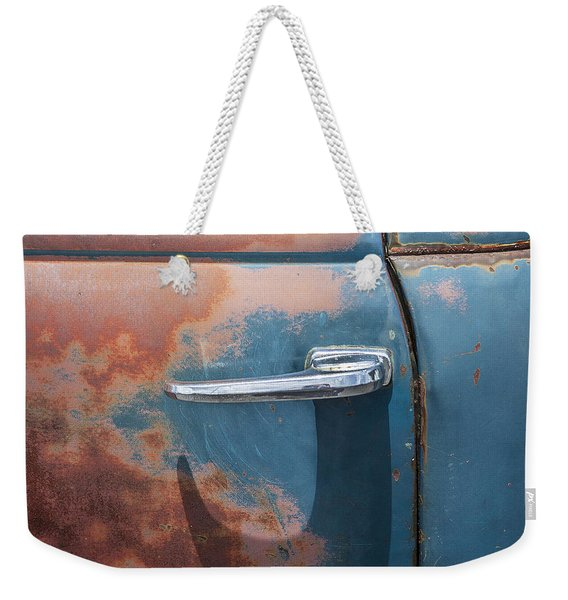 Just A Little Wax Weekender Tote Bag