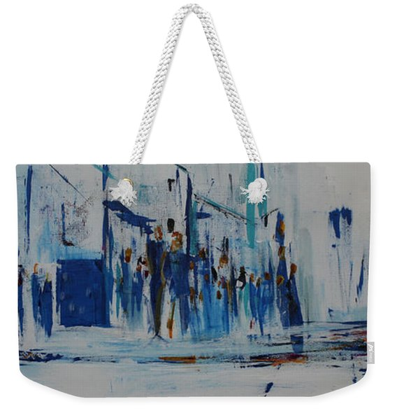 Just Another Day In New York City Weekender Tote Bag