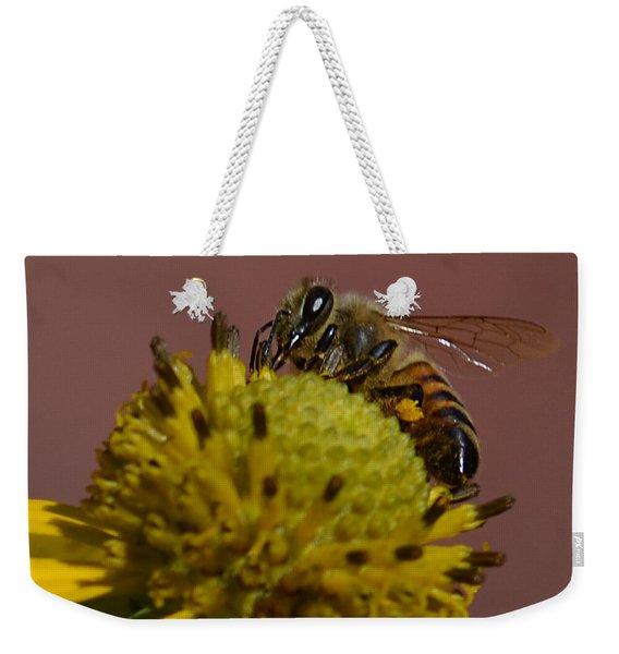 Just Bee Weekender Tote Bag