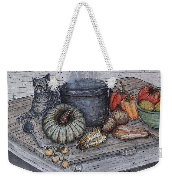 Just Curious Weekender Tote Bag