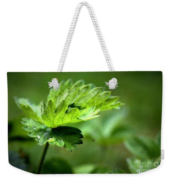 Just Green Weekender Tote Bag