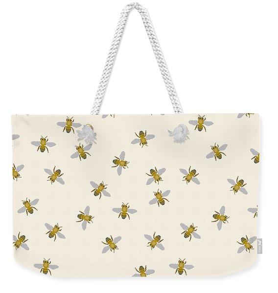 Just Little Bees Weekender Tote Bag