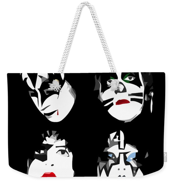 Just One Kiss Weekender Tote Bag