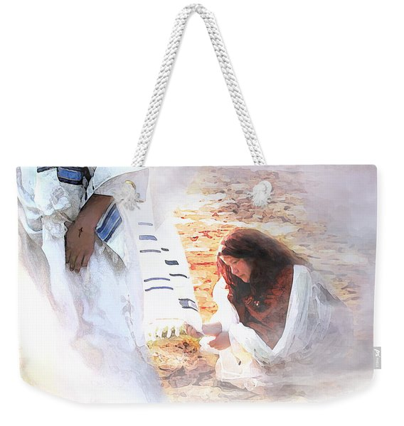 Just One Touch Weekender Tote Bag
