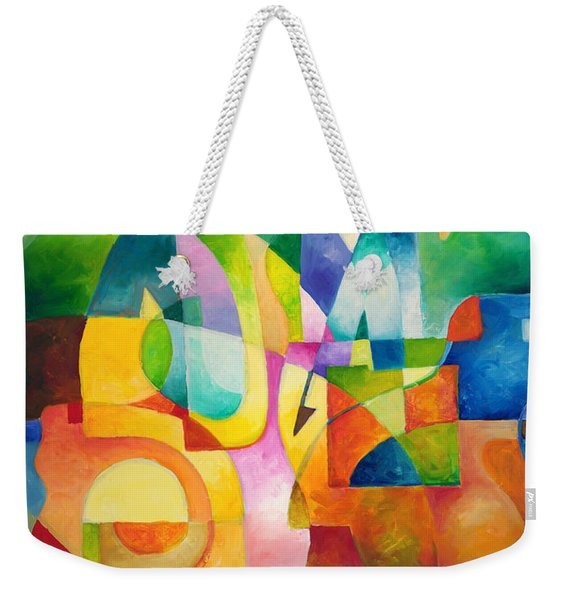Just Outside Weekender Tote Bag