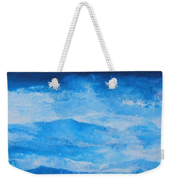 Just The Waves Weekender Tote Bag