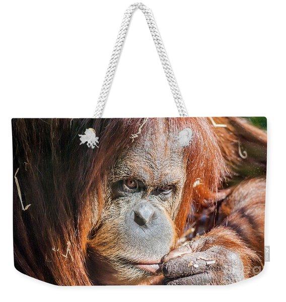 Just Thinking Weekender Tote Bag
