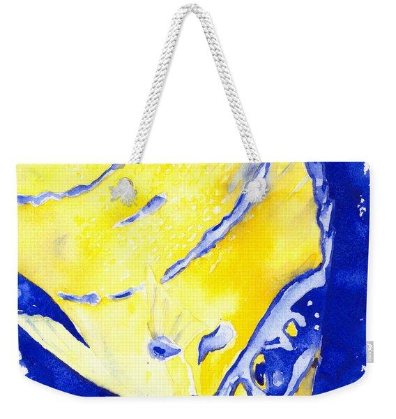 Juvenile Queen Angelfish Weekender Tote Bag