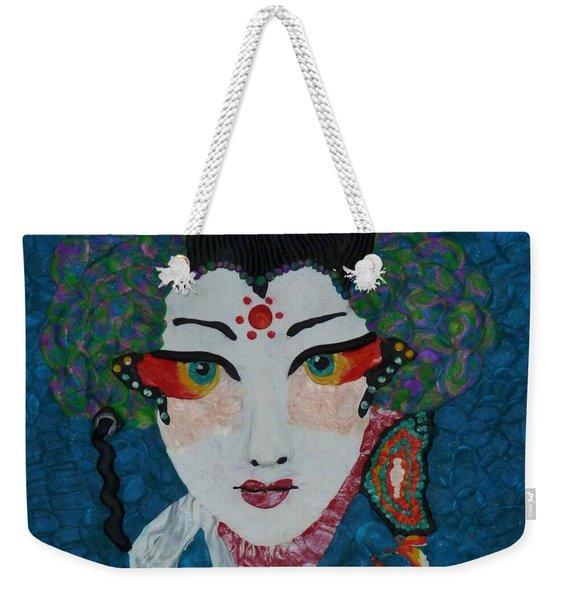 Kabuki Weekender Tote Bag